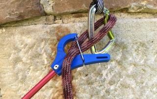 Foto Clipstick Anwendung Seil einhängen - Schritt 2